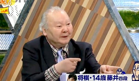 ワイドナショー画像 加藤一二三「藤井聡太四段が天才である羽生善治三冠を超えるのは難しい」 2017年4月30日