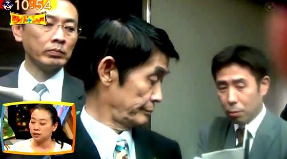 ワイドナショー画像 官邸からのメモを見て球に謝罪に転ずる今村雅弘 2017年4月30日