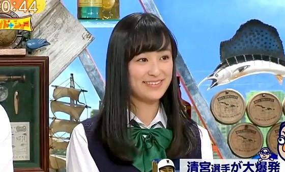 ワイドナショー画像 ワイドナ高校生の鈴木美羽「野球よりサッカーが人気」 2017年4月30日
