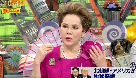 ワイドナショー画像 デヴィ夫人「安倍総理は北朝鮮が怖い国だと煽っている」 2017年5月14日