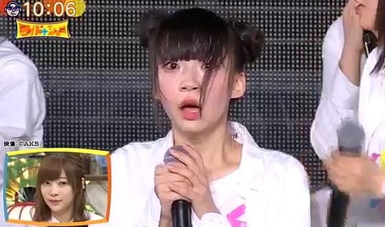 ワイドナショー画像 AKB48総選挙の中間速報で1位になったNGT48の荻野由佳 2017年6月4日