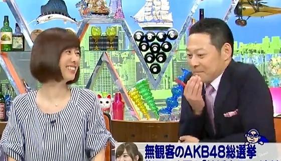 ワイドナショー画像 大島優子がFワードの帽子で意見を述べたのは秋元康の策略かもしれないという東野幸治 2017年6月25日