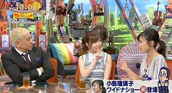 ワイドナショー画像 初登場の小島瑠璃子オープニング 2017年6月25日