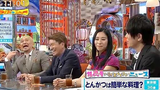 ワイドナショー画像 古市憲寿「家庭料理よりレストランの方が絶対おいしい」という発言を制する東野幸治 2017年7月2日