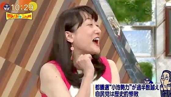 ワイドナショー画像 エドはるみ「グーをやると松本さんに怒られるかと思った」 2017年7月9日