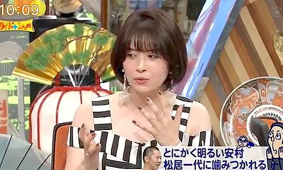 ワイドナショー画像 宮澤エマ「松居一代の動画は面白かった」 2017年7月16日