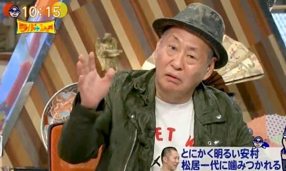 ワイドナショー画像 泉谷しげるがとにかく明るい安村を批判「もともとつまんない」 2017年7月16日