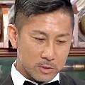 ワイドナショー画像 佐々木アナから「男は黙って芋焼酎」と紹介された前園が過敏に反応し表情が曇る 2017年8月6日