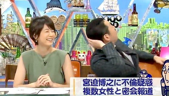 ワイドナショー画像 東野幸治が宮迫博之の不倫疑惑にツッコミ 2017年8月13日