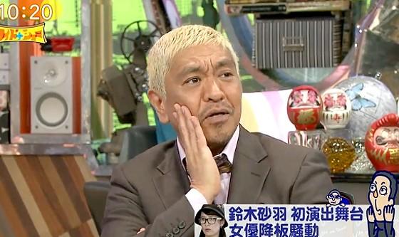 ワイドナショー画像 松本人志「パワハラがお気軽なクーデターとして強い者いじめに使われている」 2017年9月17日