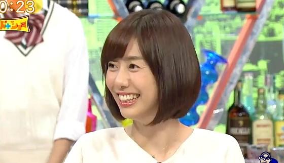 ワイドナショー画像 女子アナにパワハラはないと力説する山崎夕貴アナ 2017年9月17日