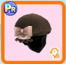 ふわもこベレー帽