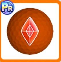 オレンジサファイアボール