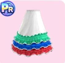 ギアナ風スカート