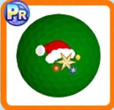 クリスマスサンタボール