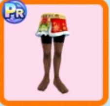 クリスマススカート
