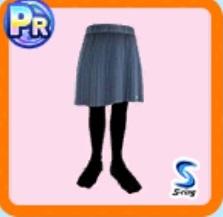 ダークカラースカート