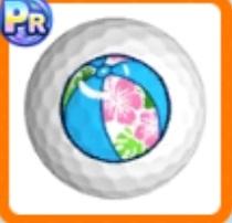 ビーチゴルフボール