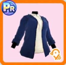 ベーシック紺ジャケット