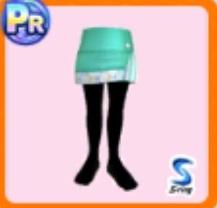 ミニスカート(緑)