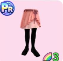 ラップドレープスカート