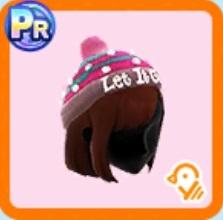 レディースビビッドニット帽