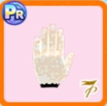 レースショート手袋