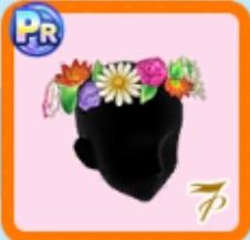 季節の花々の髪飾り