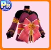 彼岸花柄和風ドレス・上衣