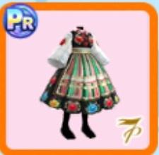 東欧風ドレス