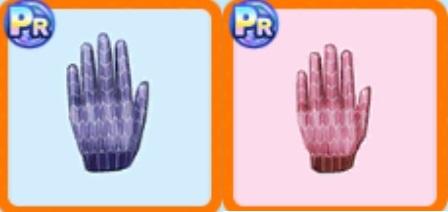 矢絣柄の手袋