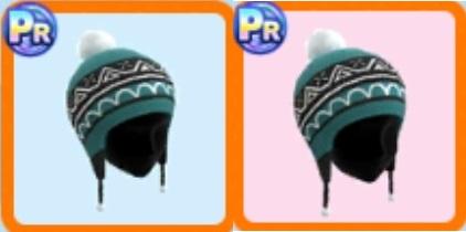 耳当て付きニット帽