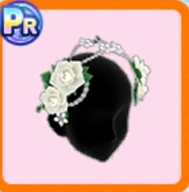 花飾りのカチューシャ