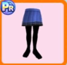 警察官風スカート