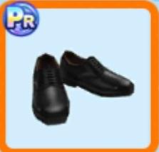 警察官風革靴