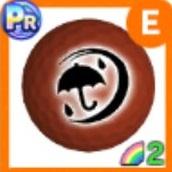銅メダルボール(雨)