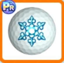 雪結晶ボール