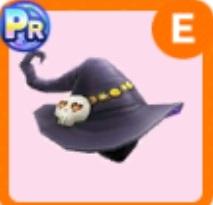 魔女っ子のとんがり帽子