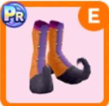 魔女っ子のブーツ