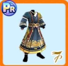 龍模様の漢服
