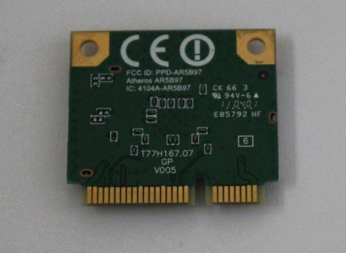 内蔵無線LANワイヤレスカード