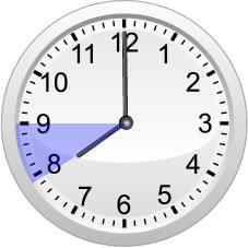 8時から9時の為替値動き